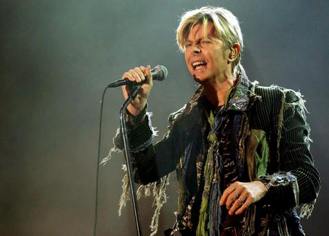 Legend: David Bowie