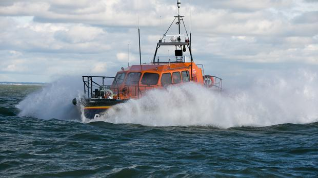 RNLI boats were deployed in the search
