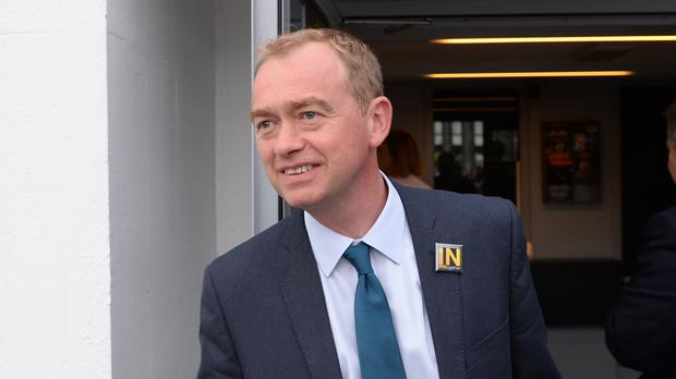 Tim Farron warned against
