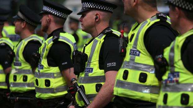 Officers dealing with hundreds of people every day are only provided with the occasional 'bar of slimy soap', the Scottish Police Federation claims