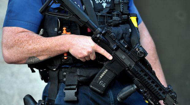 Figures showed the number of authorised police firearms officers fell for the fourth year in a row