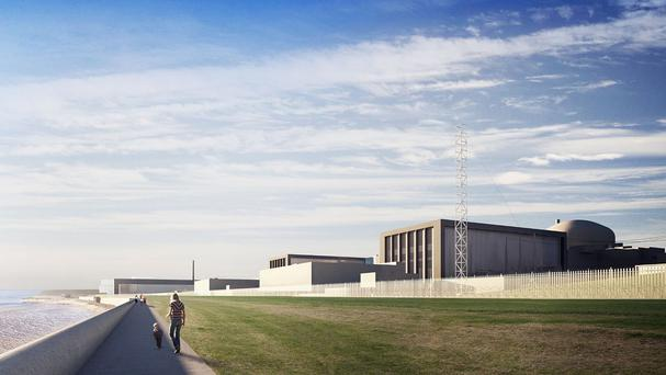 Hinkley Point C power plant is being financed by a Chinese nuclear power provider and French energy giant EDF (EDF Energy/PA)