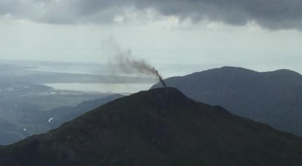 Everyone on board the helicopter is accounted for following the incident in Snowdonia (Huw Price/PA Wire)