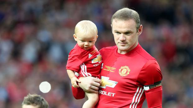 Wayne Rooney was at his testimonial with his sons when the alleged incident occurred