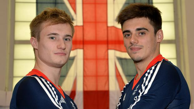 Great Britain's Jack Laugher and Chris Mears took the gold medal