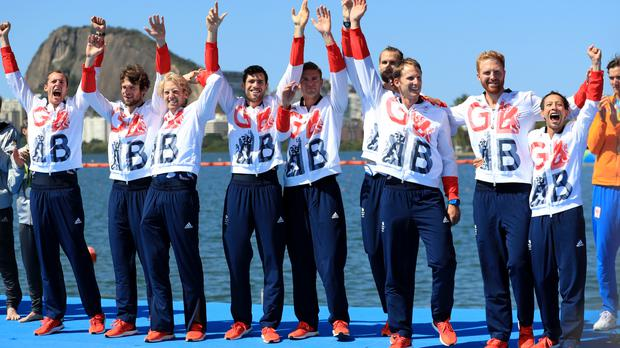 Winning the men's eight, the rowers brought Team GB's gold medal haul up to eight, while the girls won Team GB's first-ever Olympic medal in the women's eight