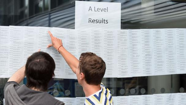 The number of boys achieving the very top grade at A-level could pull further ahead of girls, an expert says