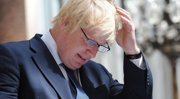 Foreign Secretary Boris Johnson takes over for Theresa May while she's on holiday.