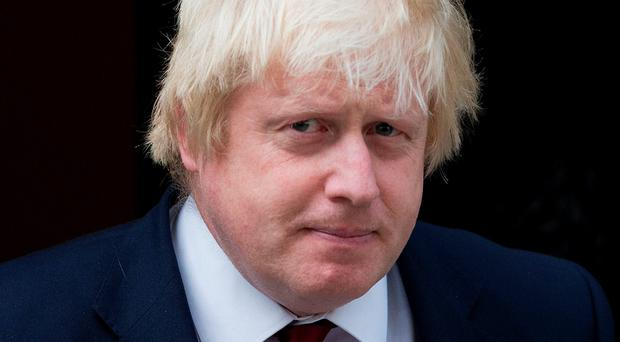 Duty minister: Boris Johnson