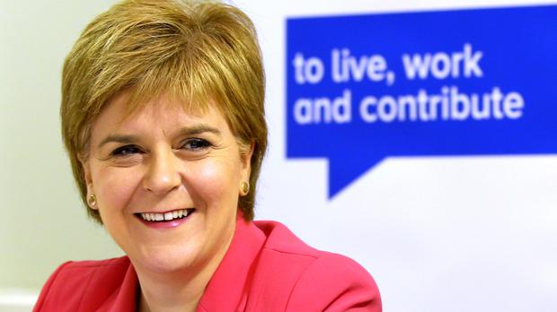 First Minister Nicola Sturgeon met EU nationals living in Scotland during a special sitting of her Cabinet