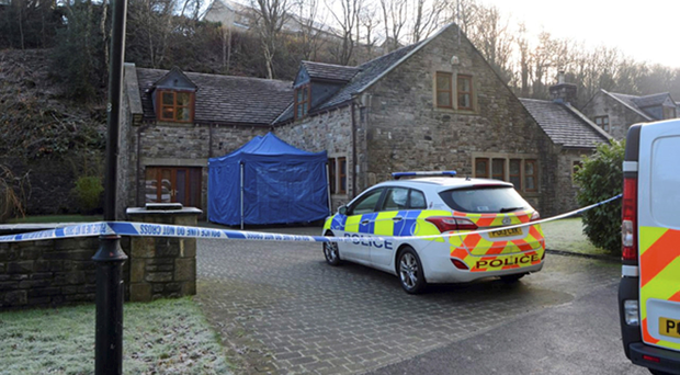 Lancashire Police at the scene at Sunnybank where Sadie Hartley was murdered