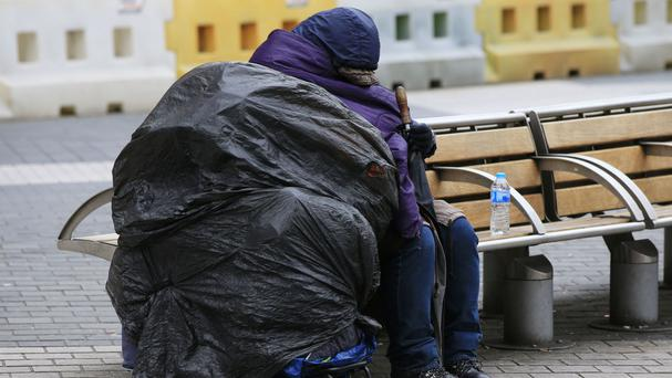 The report blames a rise in homelessness on a shortage of social housing and the prohibitive cost of renting privately