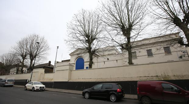 The court was told the teenager refused to come out of his cell at Pentonville Prison