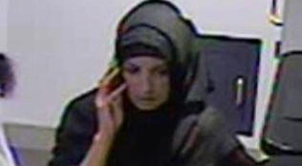Image released by the Metropolitan Police of a woman officers want to question after a good Samaritan pensioner and former nurse had £5,000 of her savings stolen when she went to the aid of a woman faking illness in Brixton, south London.