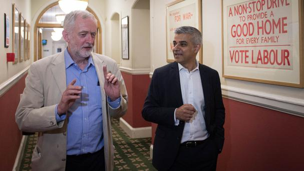Jeremy Corbyn has failed to win the trust of the British people, Sadiq Khan said