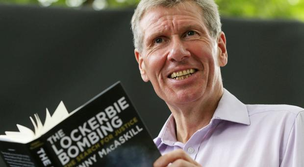 Kenny MacAskill, former Scottish justice secretary, discusses Lockerbie at the Edinburgh International Book Festival