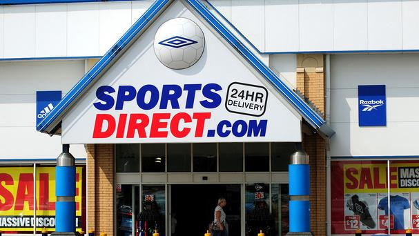 Controversial retailer Sports Direct has opened a revamped store in Bangor, Co Down