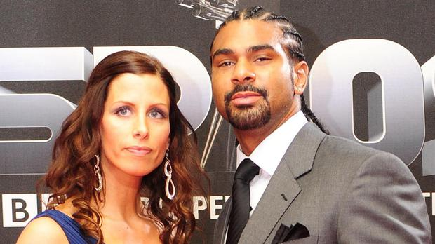 Boxer David Haye and wife Natasha have been granted a divorce