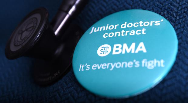 The issue came to the fore during the junior doctors' dispute.