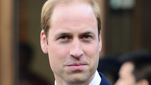William will attend the gala