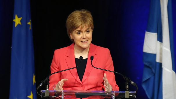 First Minister Nicola Sturgeon said the figures show the importance of Scotland's relationship with the EU