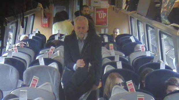 Jeremy Corbyn's train stunt exposes his insufferable sanctimony as incompetent spin