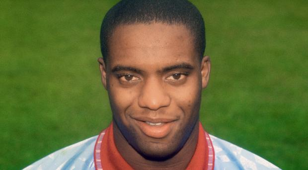 Dalian Atkinson, pictured during his playing days with Aston Villa, died after being tsered