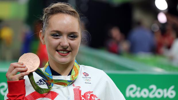 Amy Tinkler has vowed to go at least one better at the Tokyo Games in 2020