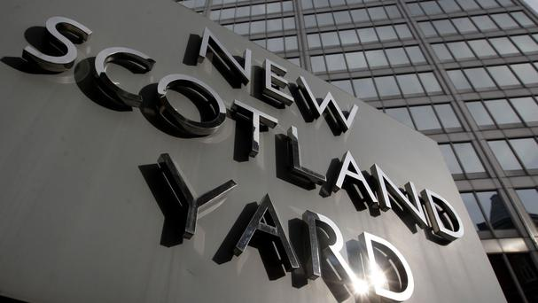 The suspect was held in Brent, north London, on Wednesday by officers from Scotland Yard's Counter-Terrorism Command
