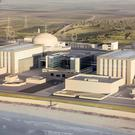 Artist's impression issued by EDF of plans for the new Hinkley Point C nuclear power station
