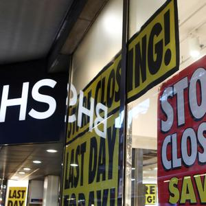 Administrators to the department store chain are set to shut 22 stores on Sunday, the last of more than 150 branches nationwide