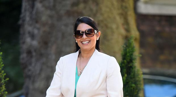 International Development Secretary Priti Patel will consider the national interest in making funding decisions