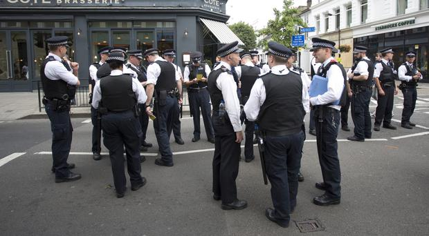 Police said 156 arrests were made on Sunday, while as of 8.45pm on Monday there had been 245 arrests