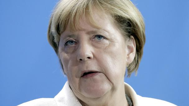 German Chancellor Angela Merkel has said the TTIP is 'absolutely in Europe's interest'