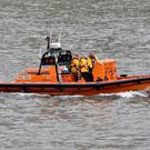 The RNLI is searching for a missing 17 year old boy