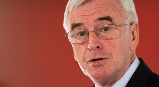 Shadow chancellor John McDonnell has complained of a 'rigged purge' of supporters of Jeremy Corbyn