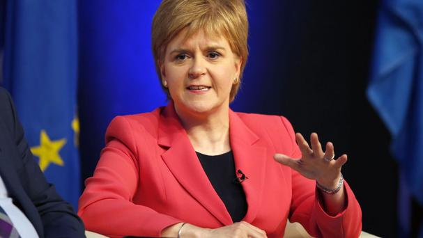 Nicola Sturgeon believes the time is right to look again at Scotland's constitutional future