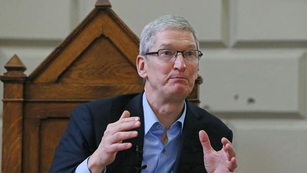 Apple chief executive Tim Cook branded his company's 13 billion euro bill for unpaid taxes in Europe as