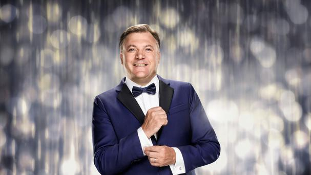 Ed Balls in a tuxedo on Strictly Come Dancing (BBC/PA Wire)