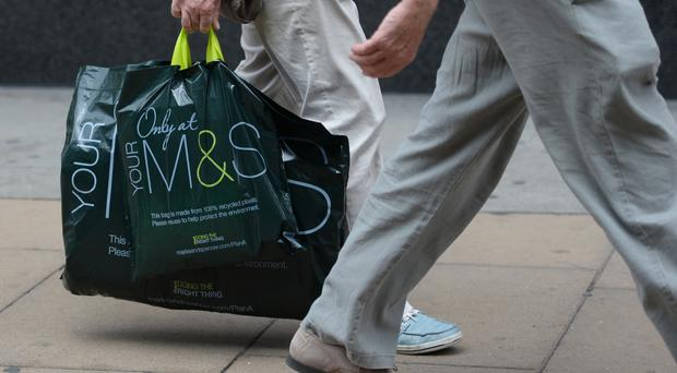 Marks and Spencer's chief executive branded the performance of its clothing and home arm