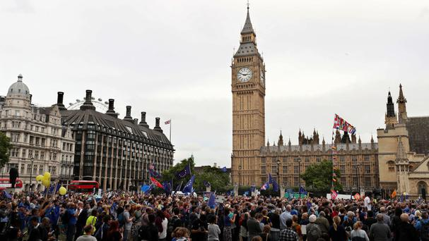 MPs will consider demands for a second referendum