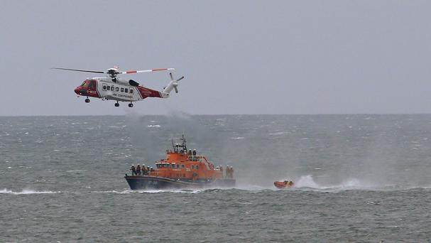 The coastguard said it is conducting an