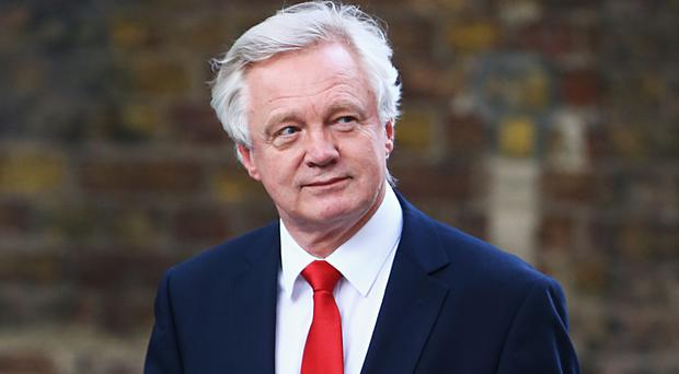 David Davis made his remarks on the single market during a lengthy Commons speech on Monday
