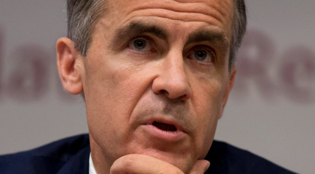 Row: Bank of England's Mark Carney