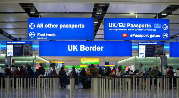 Border Force officers who discover people arriving from outside the EU with undeclared goods in excess of limits should seize the items