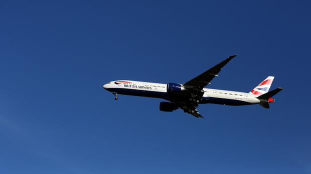 The 24-year-old Scotsman was removed from a British Airways Boeing 777