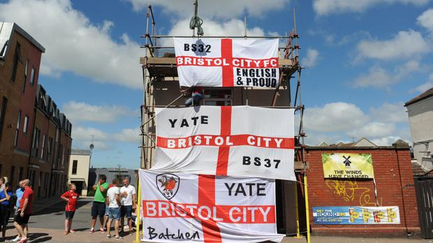 Bristol City fans were 'falsely imprisoned' by West Midlands Police, it is claimed