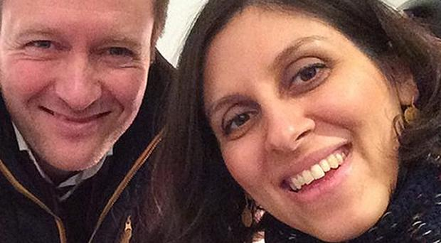 Richard Ratcliffe was urged not to reveal the sentence of his wife Nazanin Zaghari-Ratcliffe (Family handout/PA)