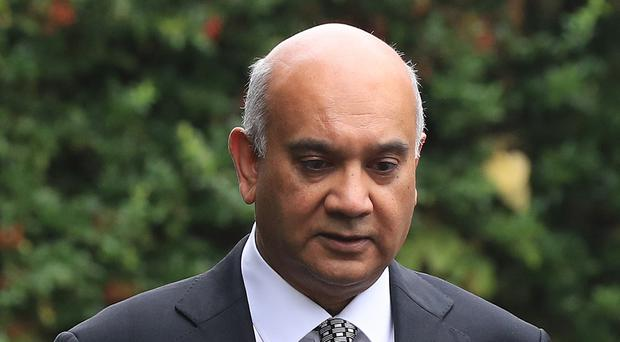 Keith Vaz has begged his wife for forgiveness