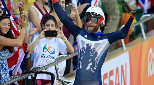 Jon-Allan Butterworth triumphed in the C1-5 mixed team sprint at the Rio Paralympics